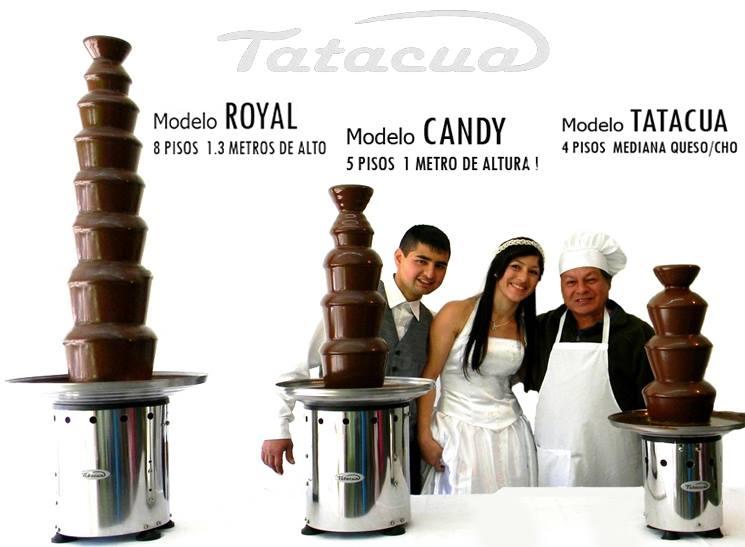 Modelos a la venta de Maquinas Cascadas de Chocolate para Emprender
