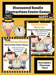http://www.teacherspayteachers.com/Product/Discounted-Bundle-New-Years-Themed-Contractions-Center-Games-Interactive-Pages-1023684