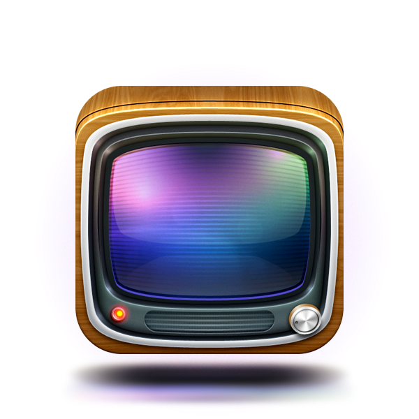 TV Icon | weirdsgn Typography Design Tutorial Illustrator