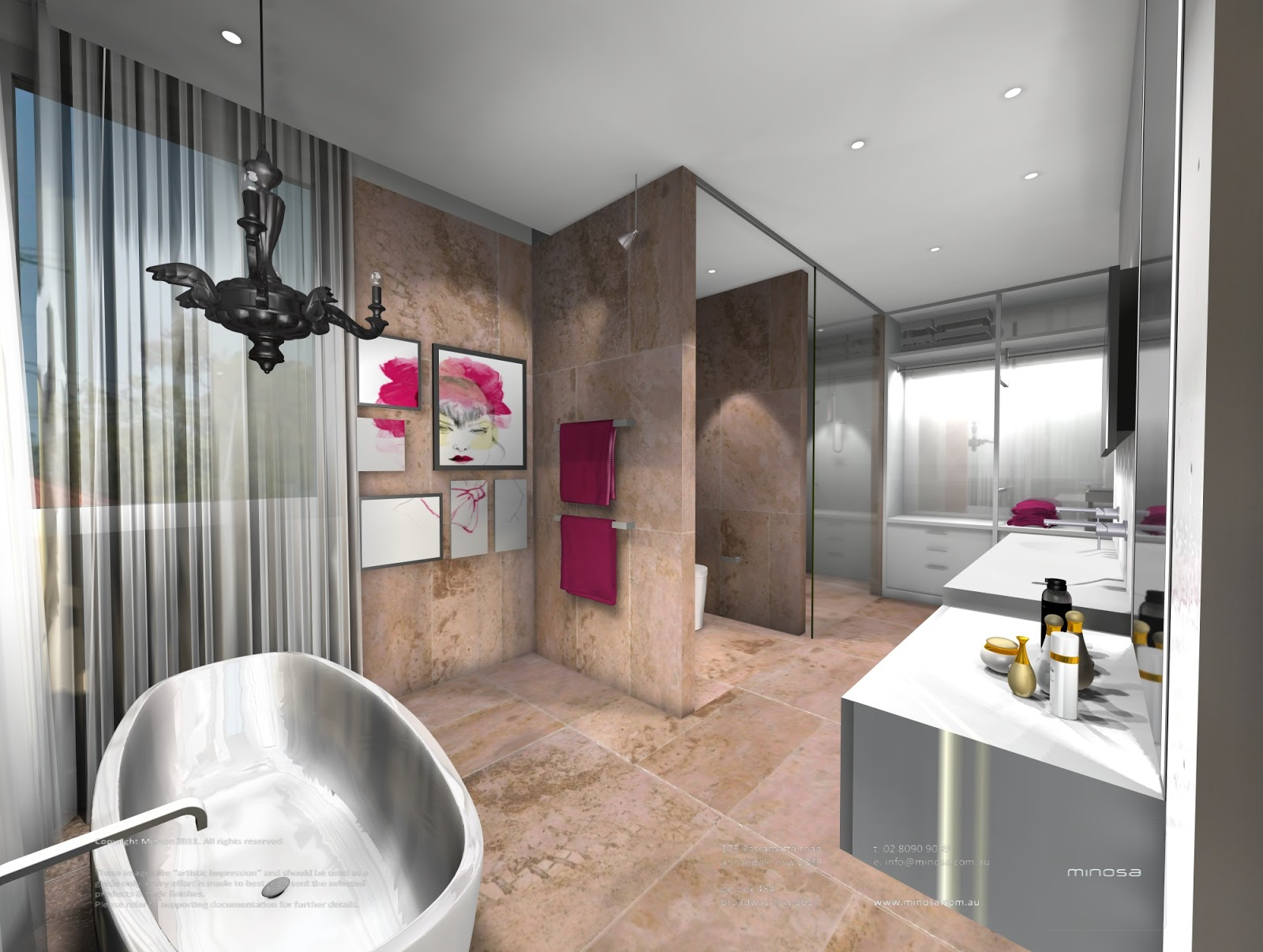 Minosa New Minosa Bathroom Design Resort Style Ensuite