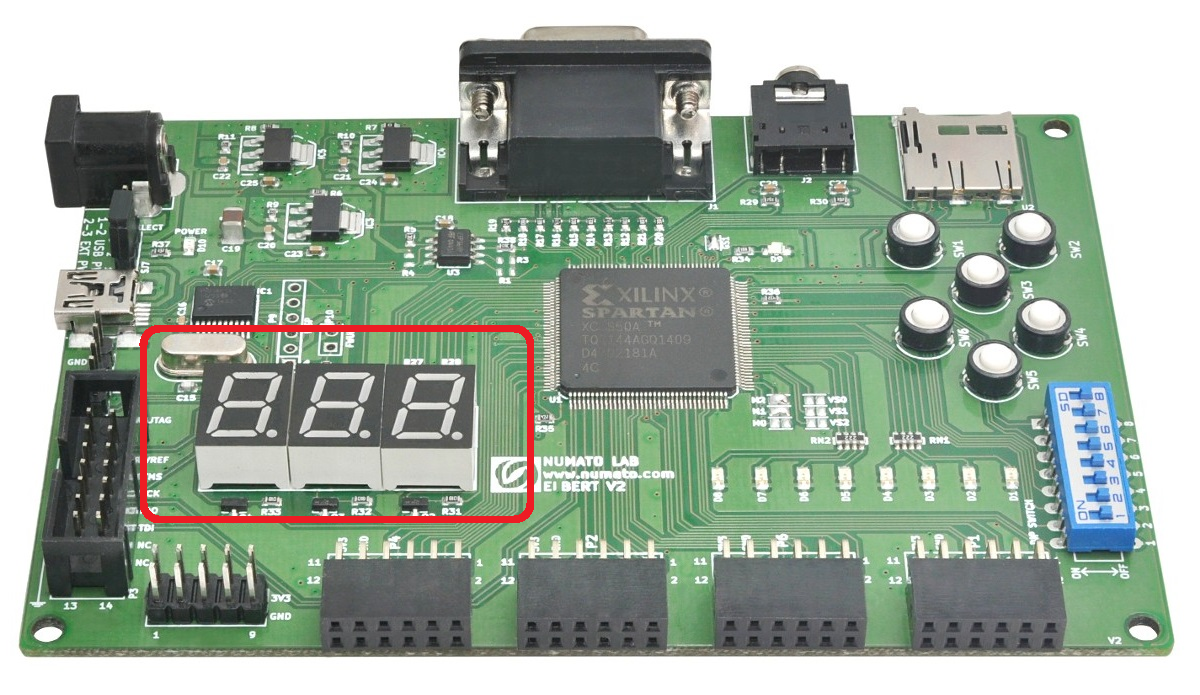 The Answer Is 42 Elbert V2 Fgpa Tutorial On Seven Segments Of Segment Display Ive Discussed Displays Before Here