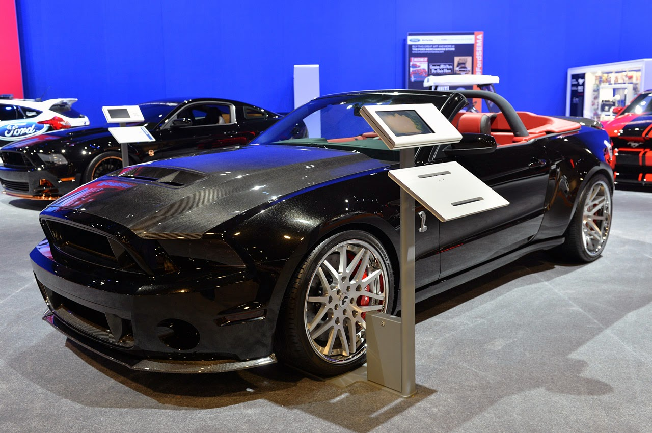 Ice nine 2014 shelby gt500 convertible