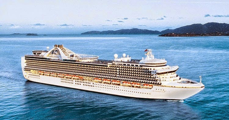 Crown princess current itinerary for celebrity