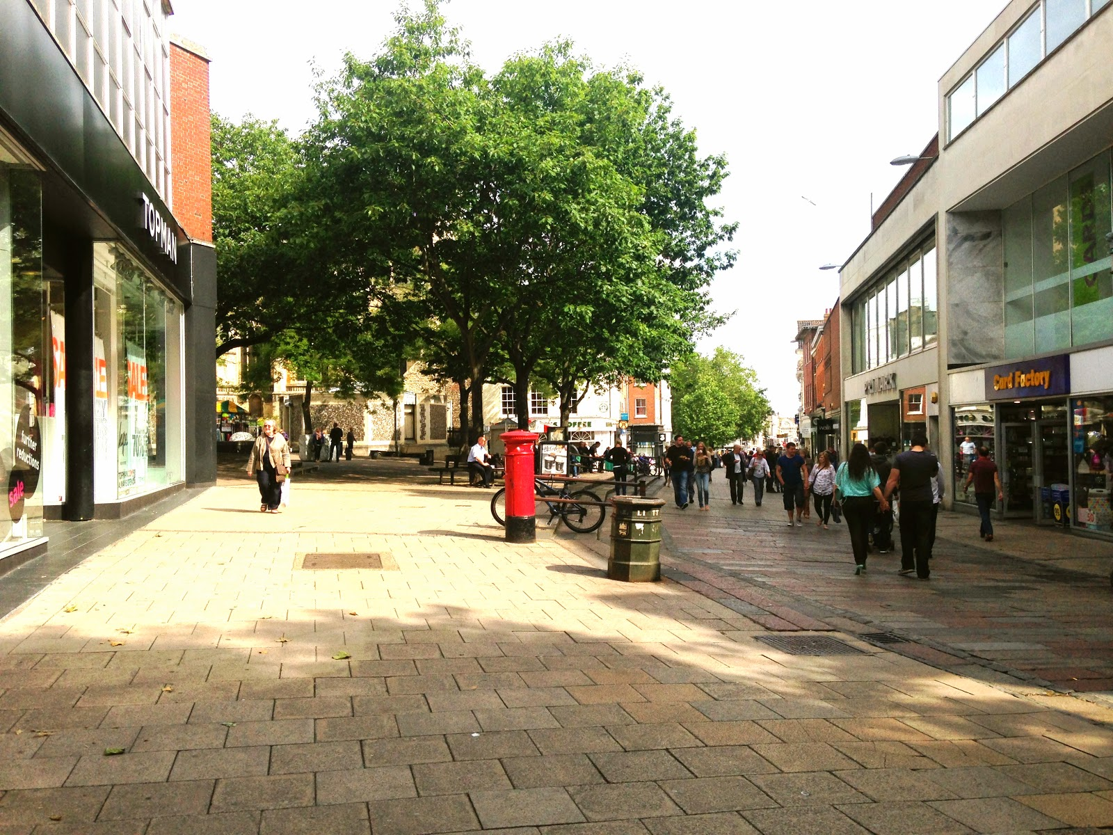 A picture of The Haymarket Norwich