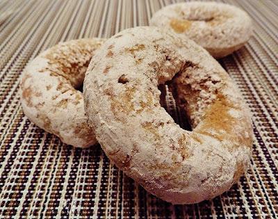 Cinnamon Sugar Baked Pumpkin Doughnuts