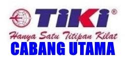 Daftar Cabang Utama TIKI se Indonesia.