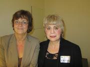 *Mme. Isabelle DURANT, Vice-Présidente du Parlement européen & Morgane BRAVO*