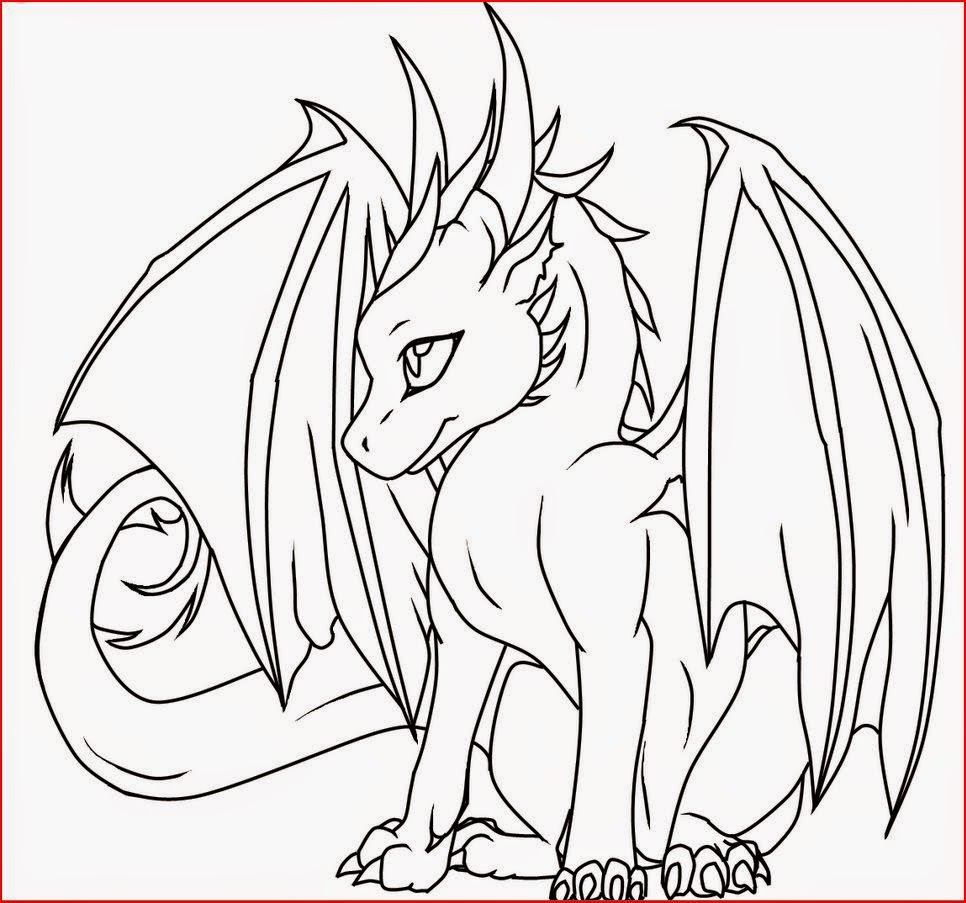 coloring pages female dragon coloring pages free and printable