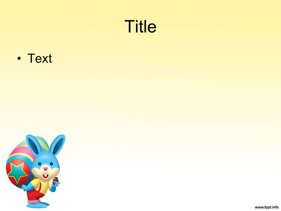 Free Download Easter Powerpoint Templates