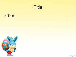 Free download Easter PowerPoint template 007B