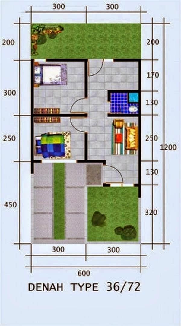 desain rumah minimalis type 36 3