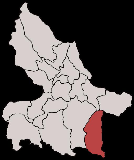 Lokasi Kecamatan Pucanglaban