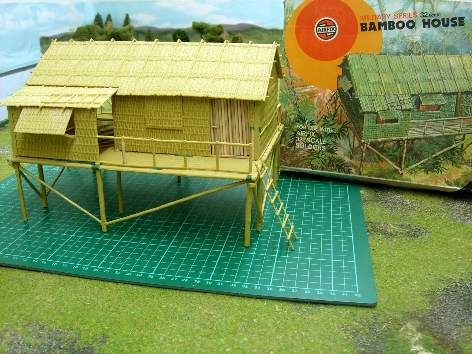Model bamboo house