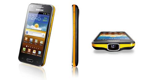 Samsung Galaxy Beam, Smartphone Android Dengan Proyektor