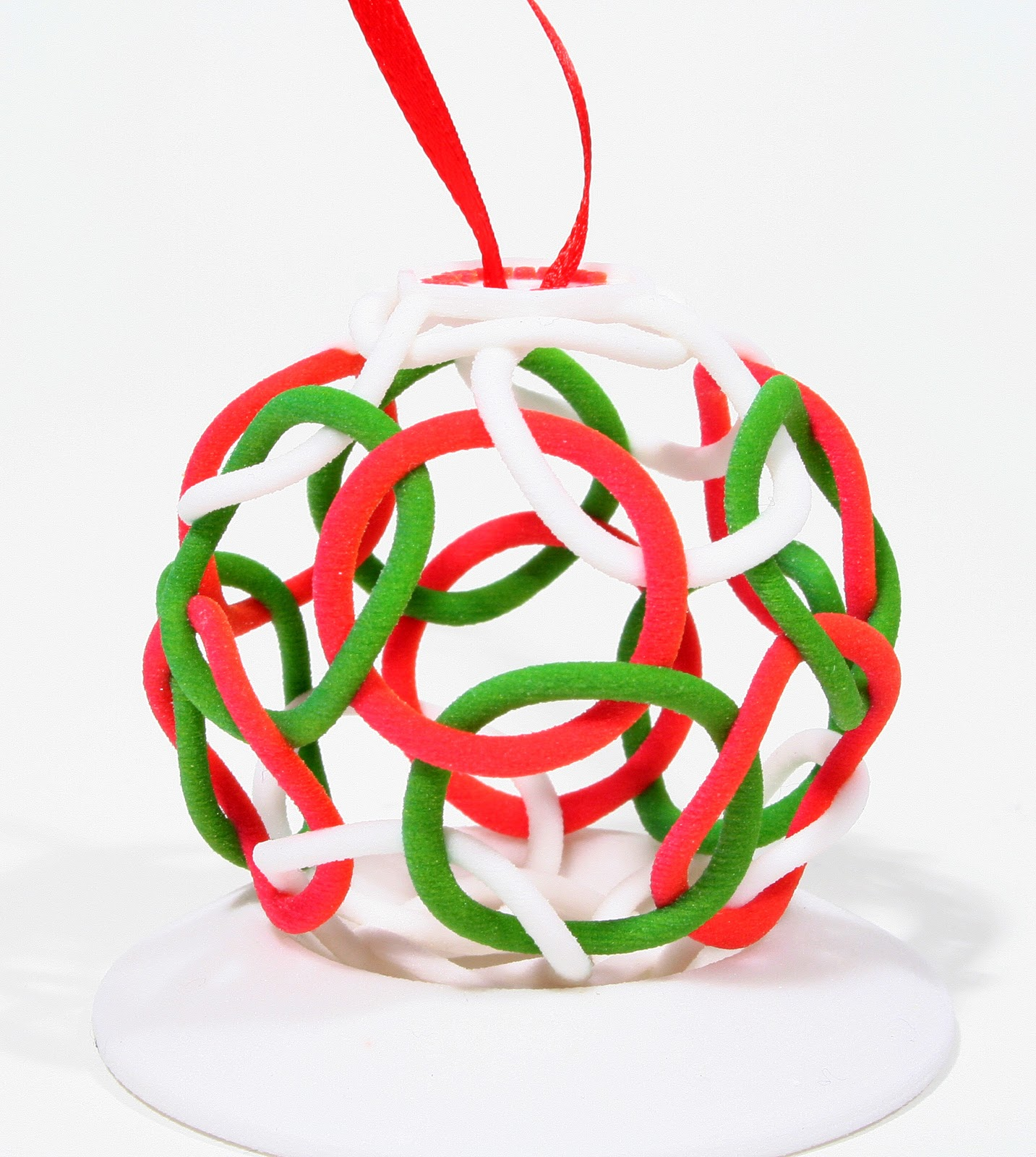 It is a photo of Influential 3d Print Christmas Ornaments