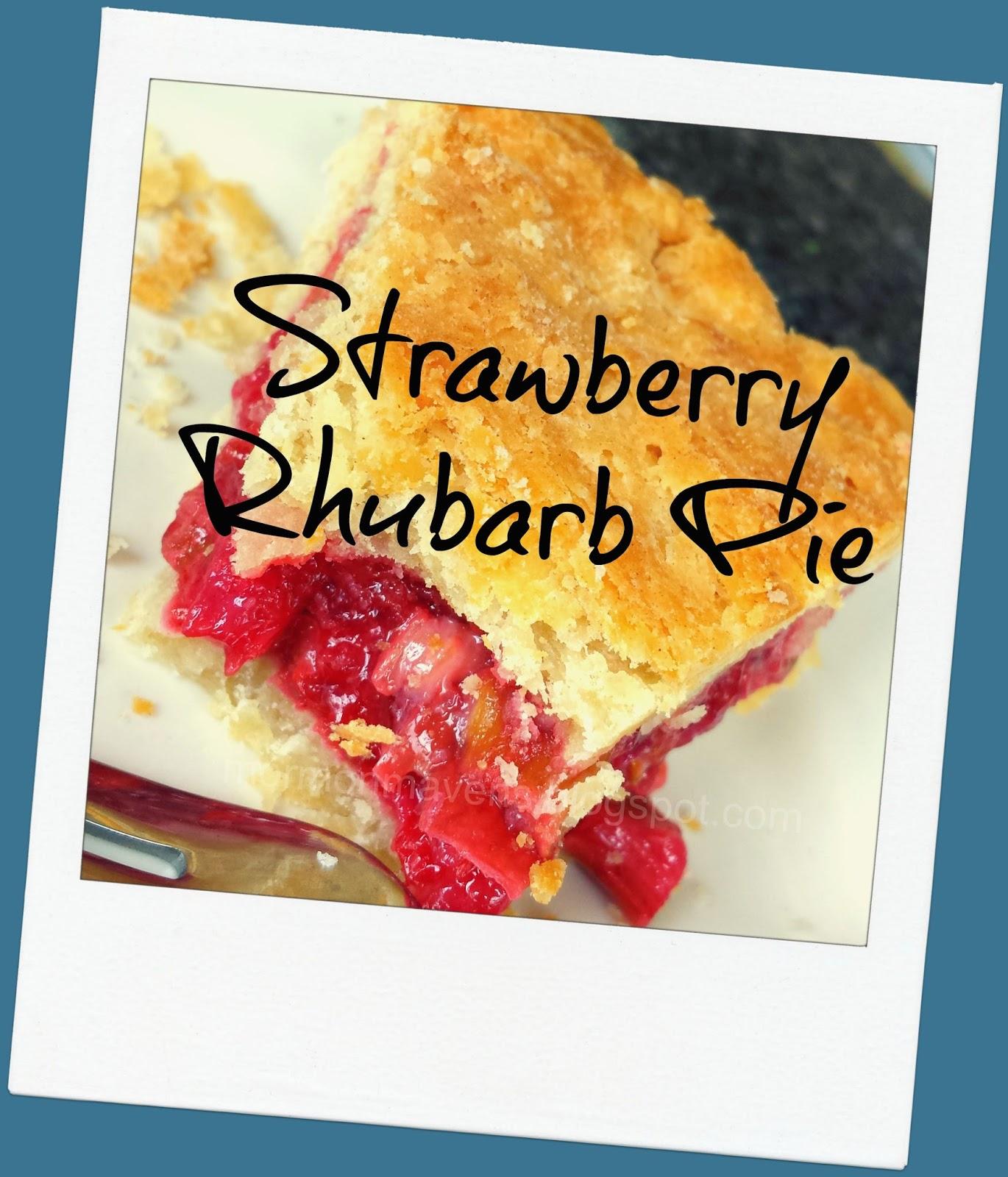 Strawberry-rhubarb Pie, Improved Recipes — Dishmaps