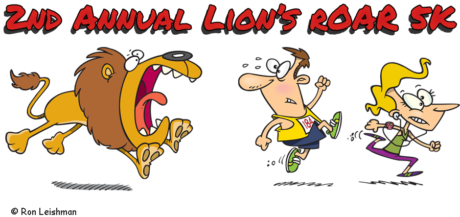 2nd Annual Ludlow Lion&#39;s Roar 5k