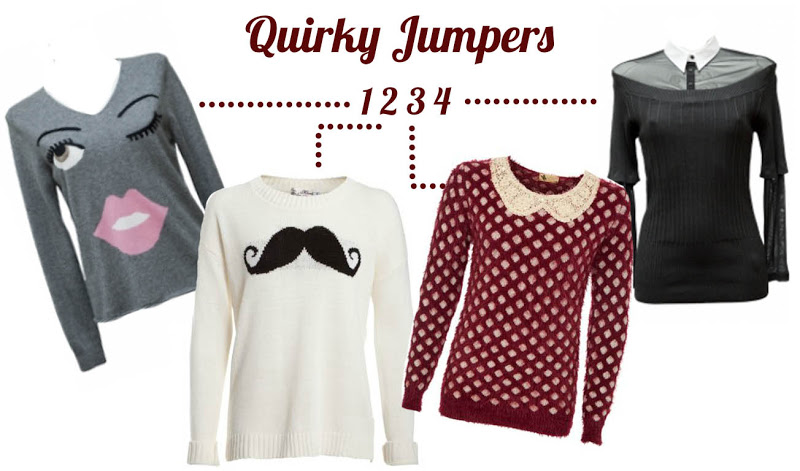 quirky jumpers