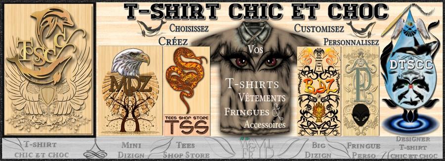 T-shirt chic et choc