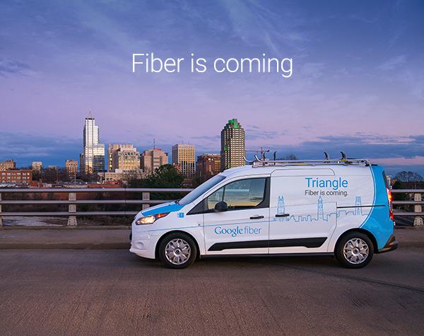 Google Fiber Commits to Triangle Area