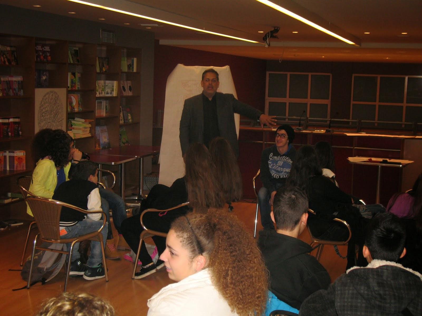 Ο συγγραφέας Βαγγέλης Ηλιόπουλος μας παρουσίασε πώς να φτιάχνουμε story boards