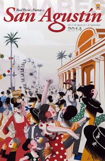 Linares - Feria de San Agustín 2014 - Cartel de José Luis Espuelas Crespo