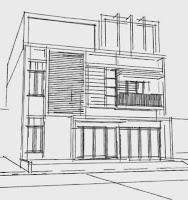 jasa gambar rumah minimalis