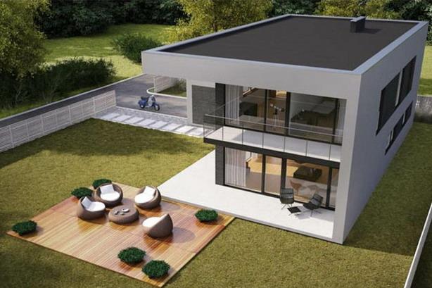tampak desain rumah minimalis