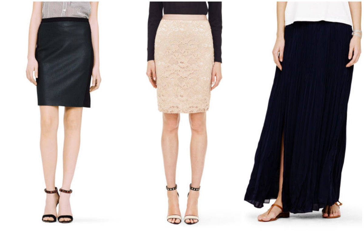 3 fave skirts from Club Monaco