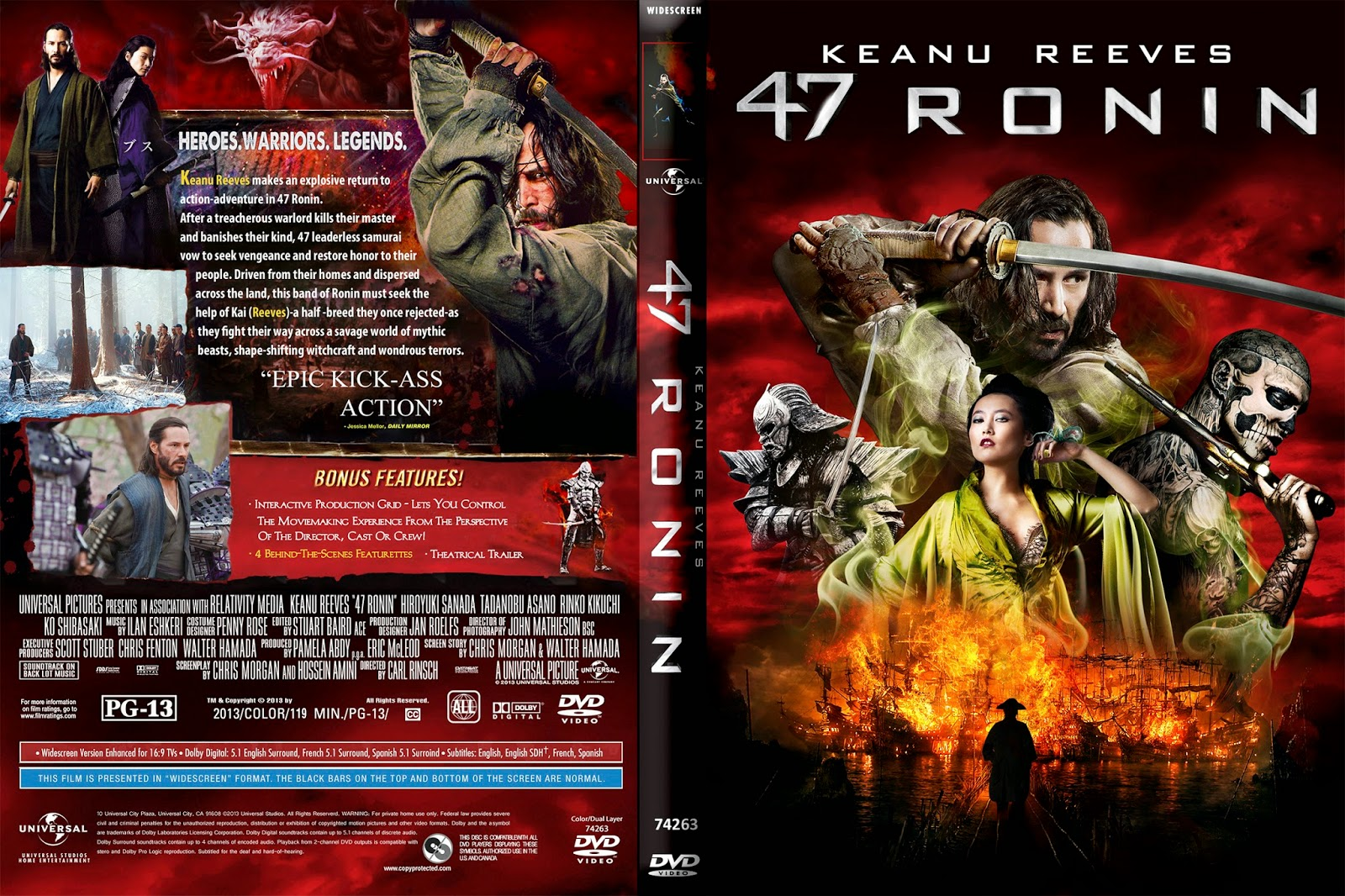 47 Ronin BRRip 720p Dual Áudio