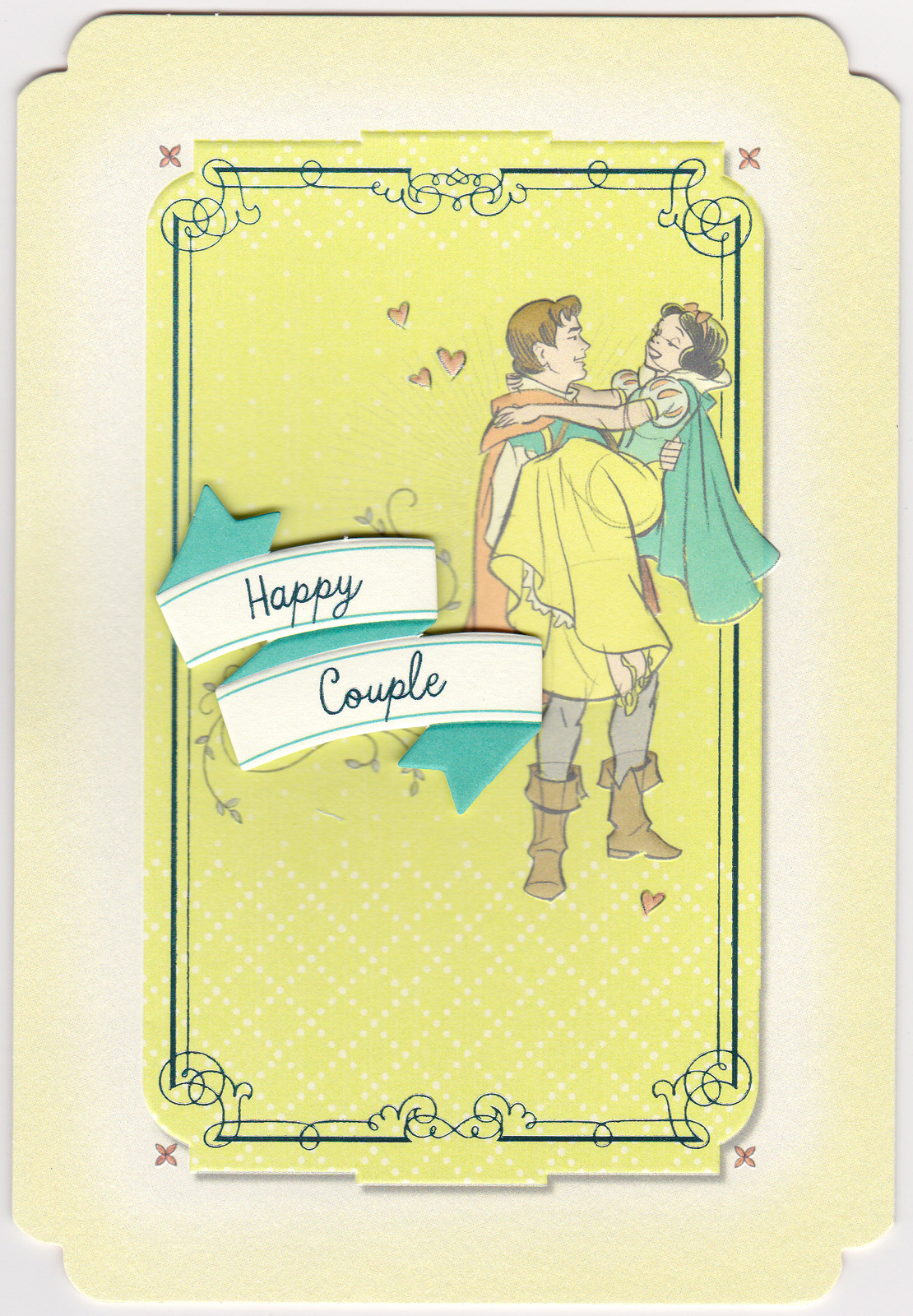Filmic Light Snow White Archive 2013 Anniversary Greeting Card