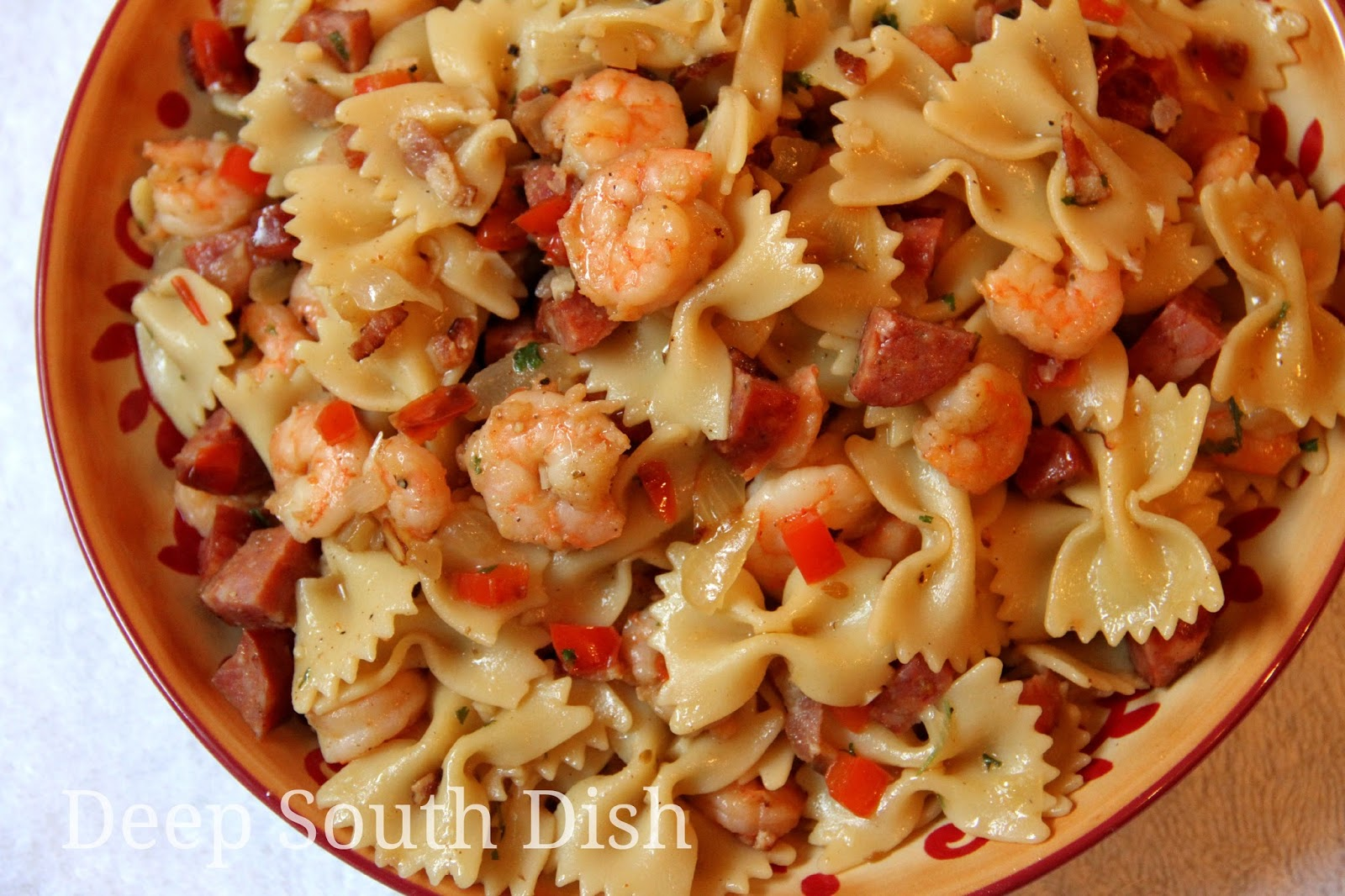 Cajun Shrimp and Pasta Skillet