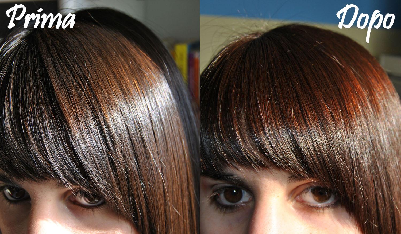 Bagno di colore capelli asciutti o bagnati i tagli di - Bagno di colore copre i capelli bianchi ...