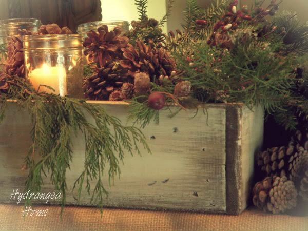 hydrangea home by dawn u0026 39 s designs  rustic planter box ideas