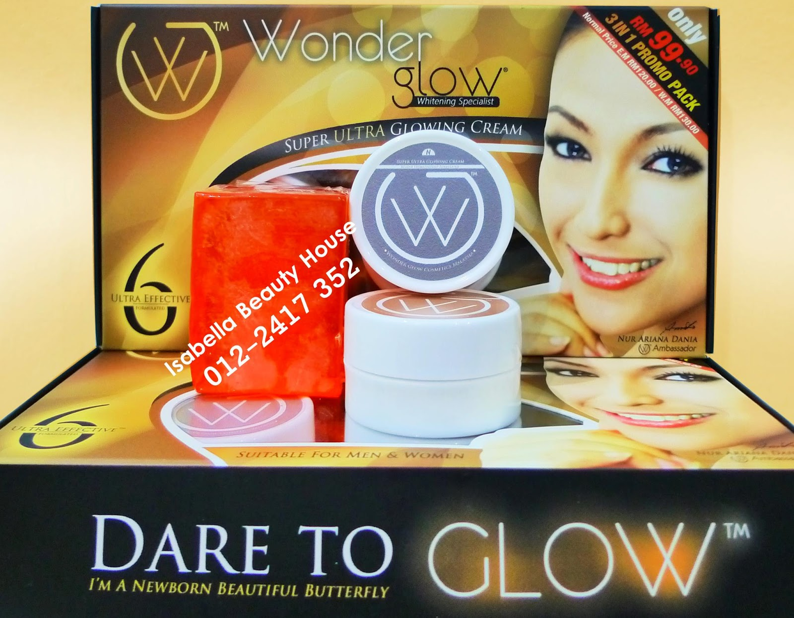 rm100 day night cream 20grm free vitamin e collagen wonder bar soap