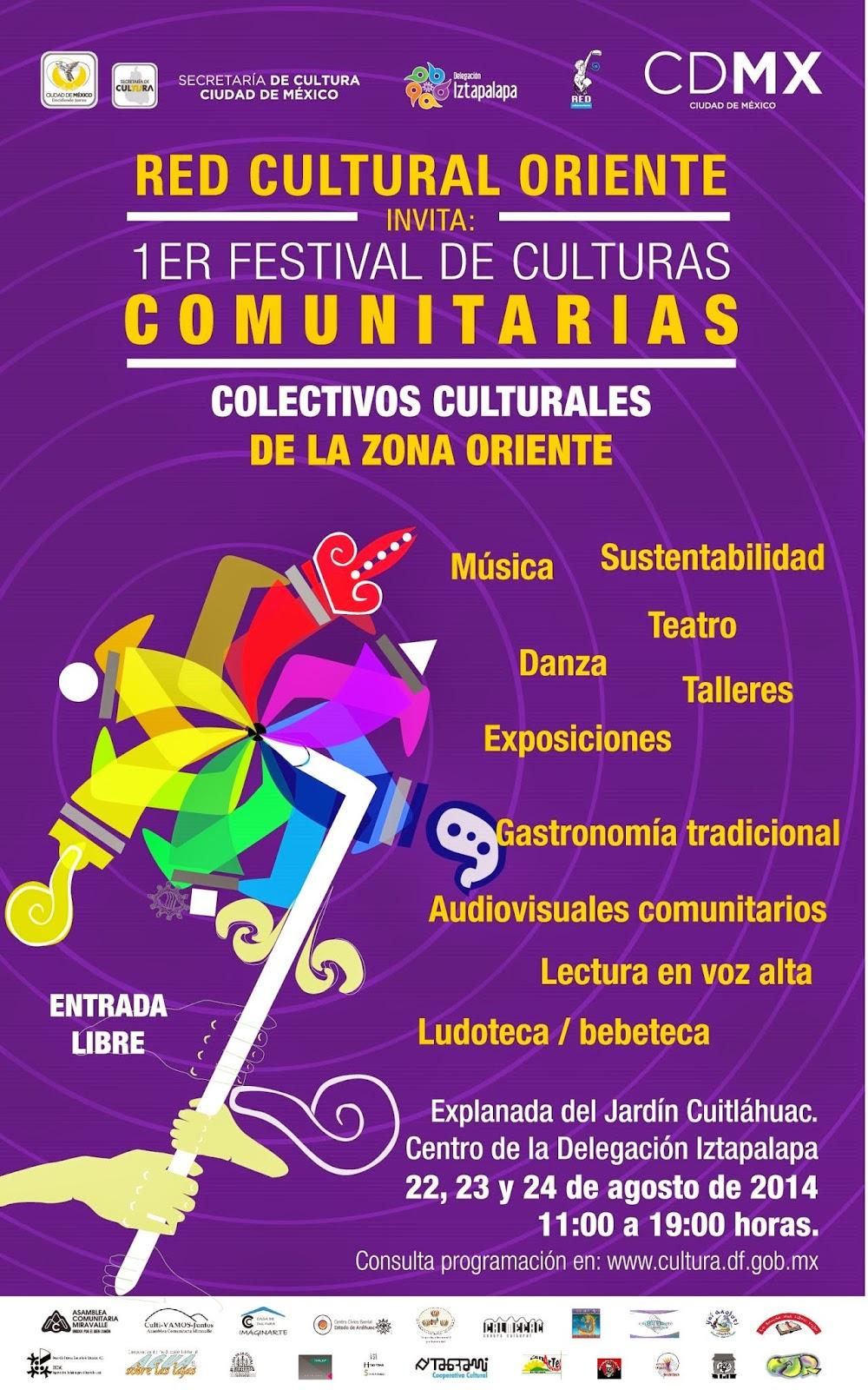 Primer Festival de Culturas Comunitarias en la Ciudad de México