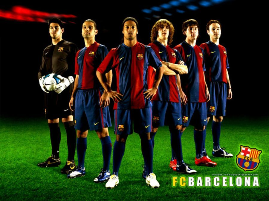 barcelona team photos