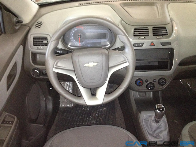 Chevrolet Cobalt LT 2013 - interior - painel