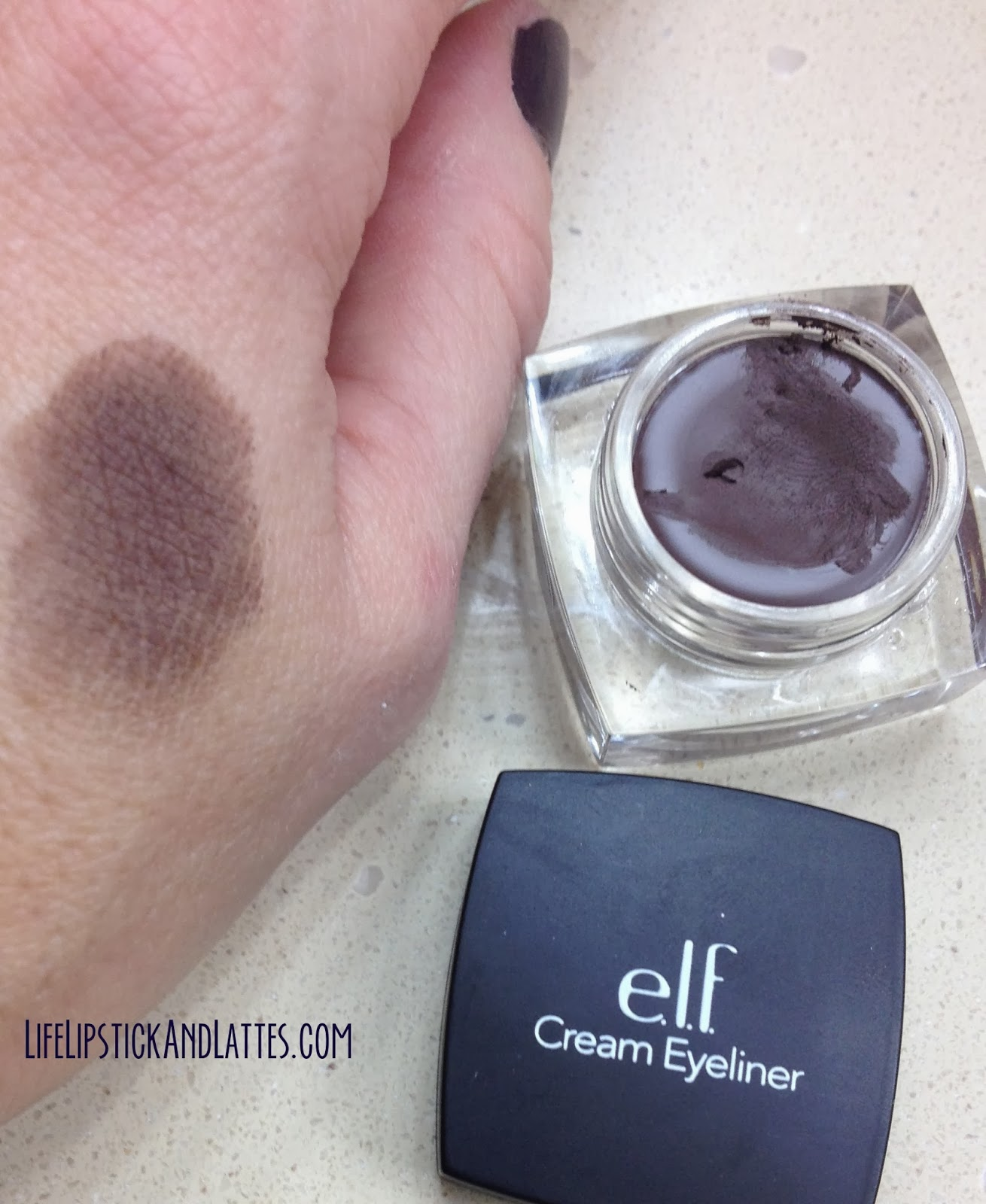 Elf coffee eyeliner