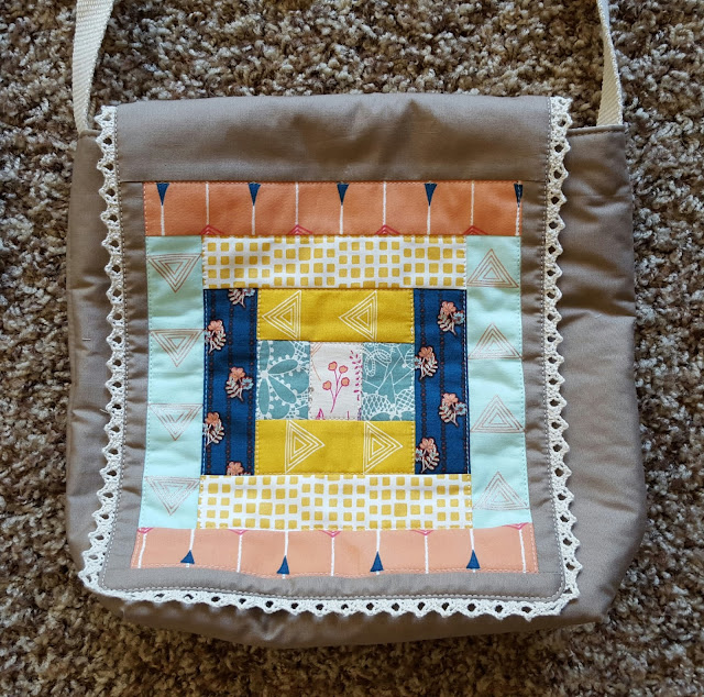 Art Gallery Fabrics Fleet & Flourish Bags by Heidi Staples