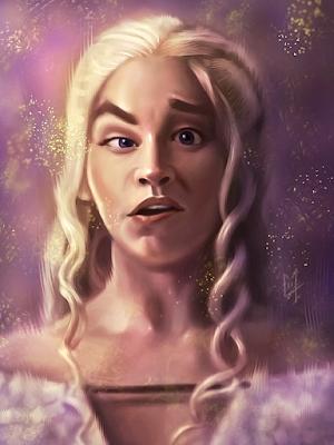 Daenerys grimace