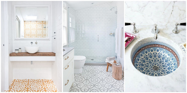 Pinterest Bathroom Collage