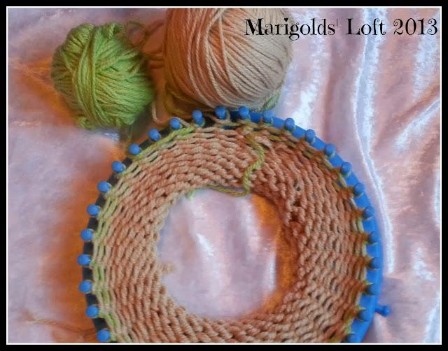 Knitting Loom Cap