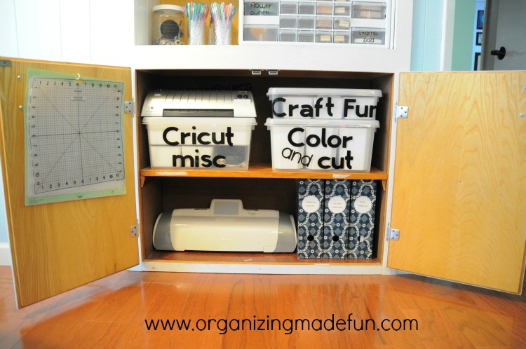 Organizing Craft Supplies Cheaply 750 x 498