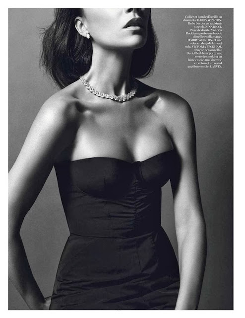 Victoria Beckham jewellery shoot in Vogue Paris