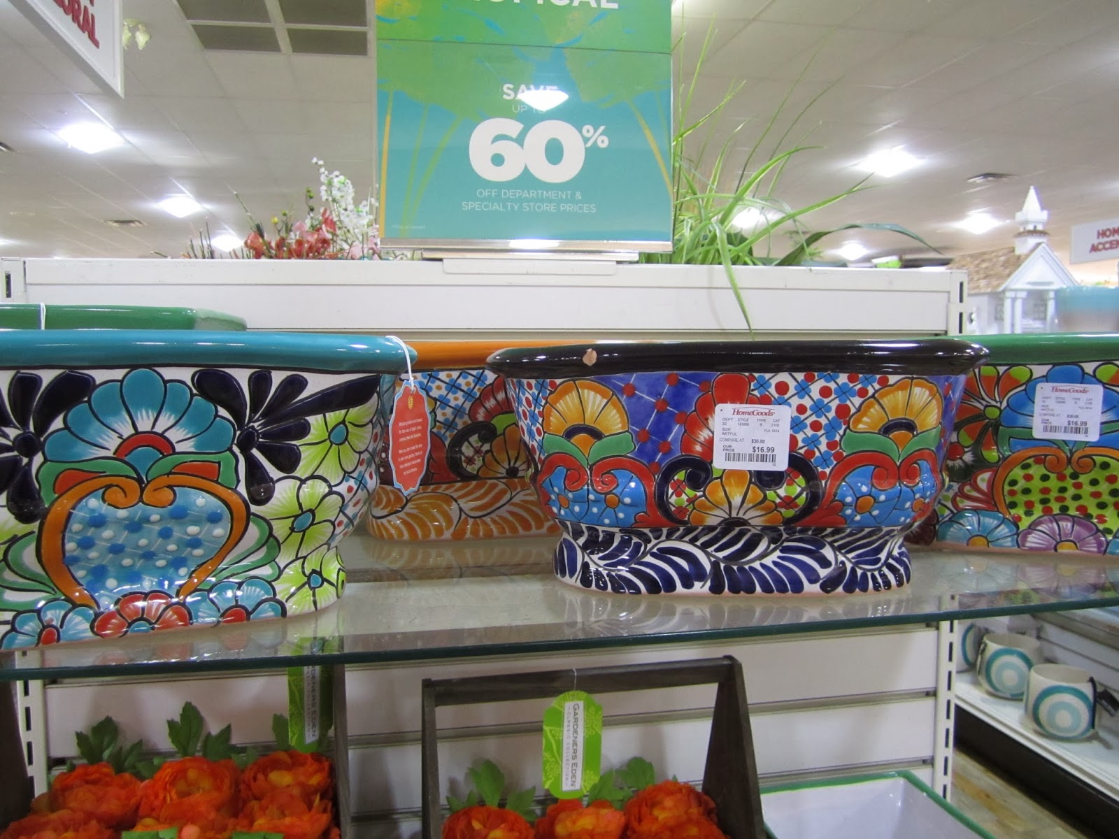 Ordinaire Inspire Bohemia: TJMaxx Homegoods Heaven: Garden Stools, Planters And Decor  For Spring, Plus The African Bazaar Is Back!