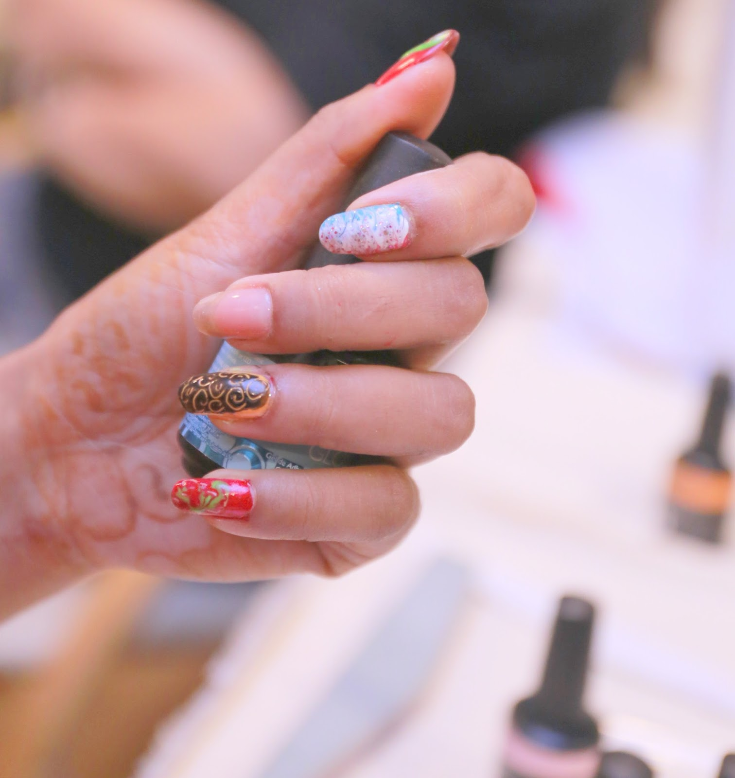 Streamline India presented The Artistic Nail design Show 2015 - Streamline India Presented The Artistic Nail Design Show 2015 Teen