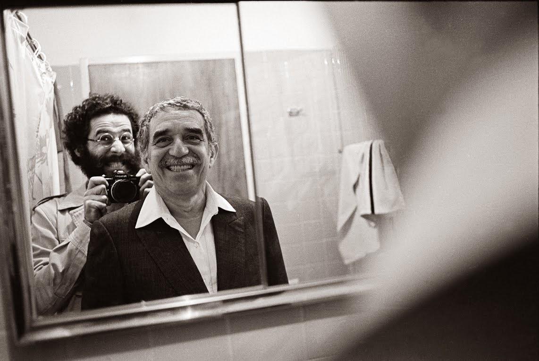 abriel García Márquez junto al fotógrafo Vasco Szinetar en Caracas en 1982