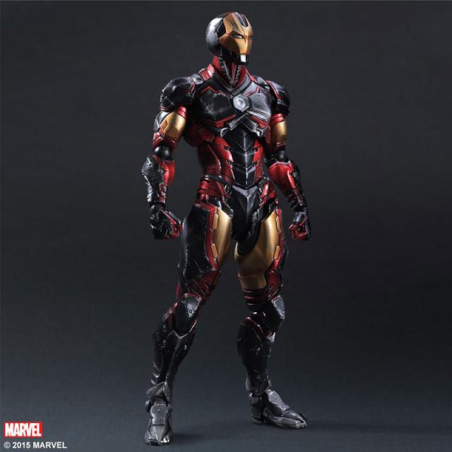 iron man play arts kai square enix