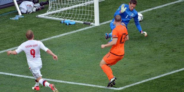 Hasil Pertandingan Belanda vs Denmark